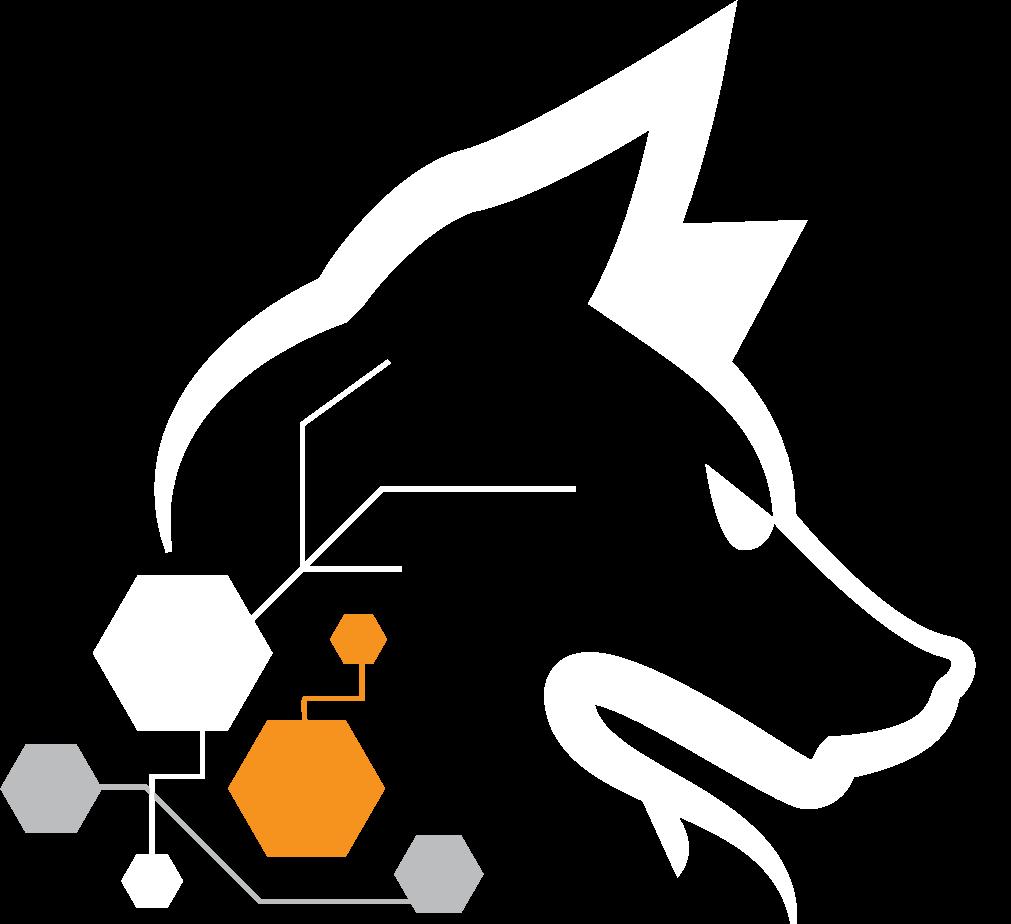 Cyber Wolves White logo